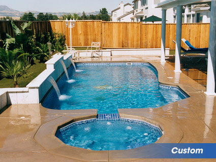 Custom swimming pools for your backyard in Ashland, VA